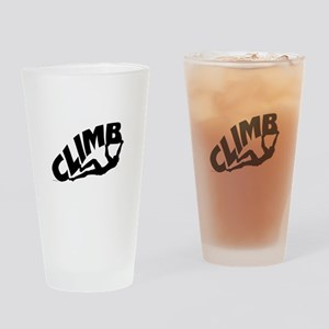 Rock Bouldering Drinking Glass