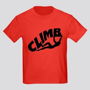 Rock Bouldering Kids Dark T-Shirt