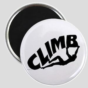 Rock Bouldering Magnet