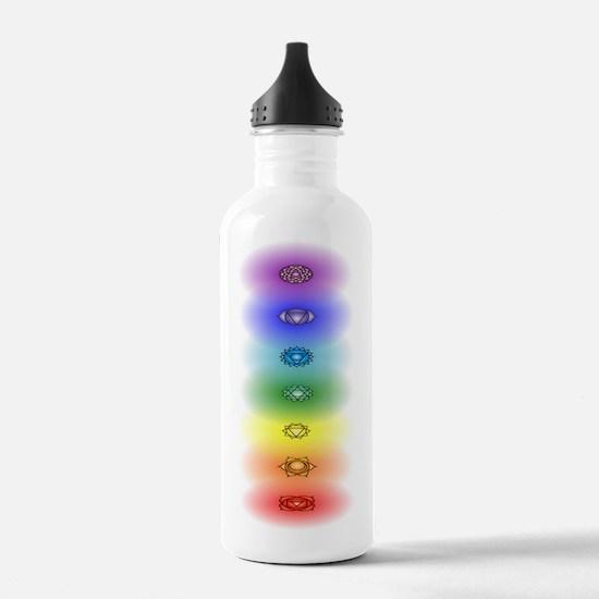 Chakra tower Water Bottle