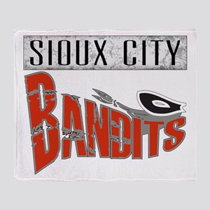 Sioux City Bandits Throw Blanket