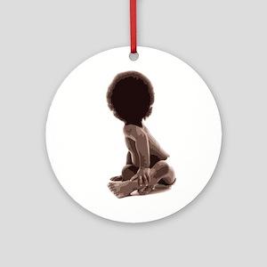 BIG Baby Ornament (Round)