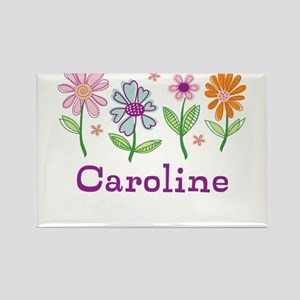 Daisy Garden Rectangle Magnet