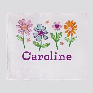 Daisy Garden Throw Blanket