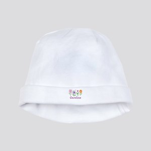 Daisy Garden baby hat