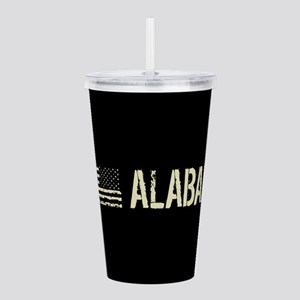 Black Flag: Alabama Acrylic Double-wall Tumbler