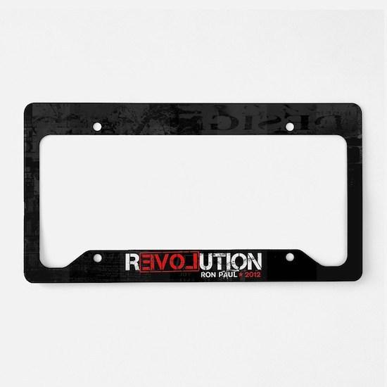 Revolution License Plate Holder