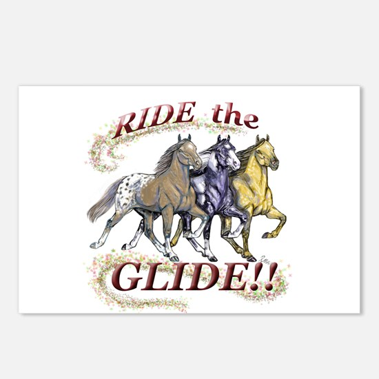 RIDE THE GLIDE! Postcards (Package of 8)