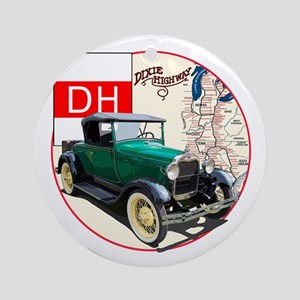 The Dixie Highway Ornament (Round)