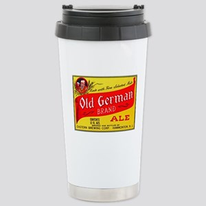 New Jersey Beer Label 4 Stainless Steel Travel Mug