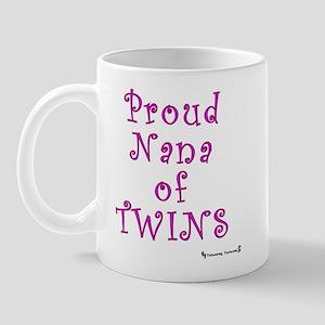 Proud Nana of Twins Mug