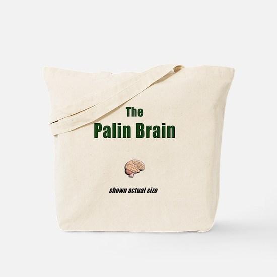 The Palin Brain Tote Bag