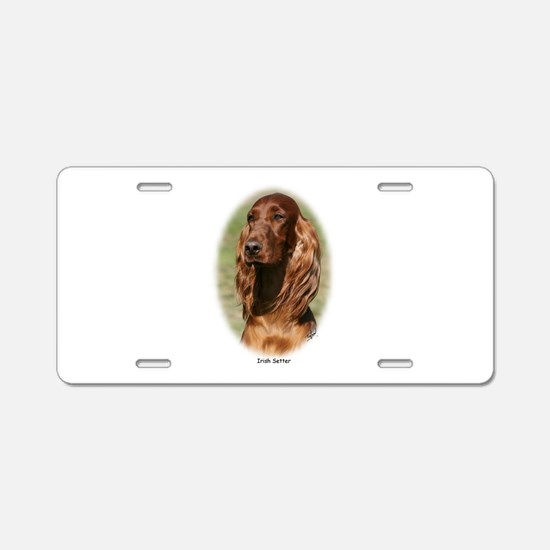 Irish Setter 9Y322D-116 Aluminum License Plate