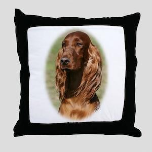 Irish Setter 9Y322D-116 Throw Pillow