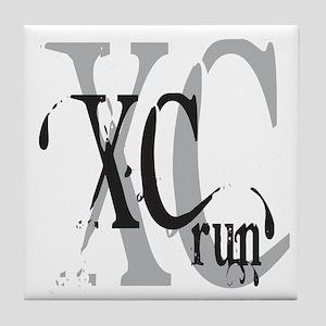 Cross Country XC Tile Coaster