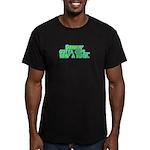 Drinkin' Outta Cups Men's Fitted T-Shirt (dark)