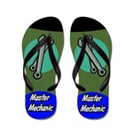 Master Mechanic Flip Flops