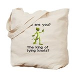 King of Tying Knots Tote Bag