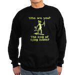 King of Tying Knots Sweatshirt (dark)