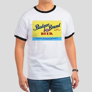 Wisconsin Beer Label 1 Ringer T