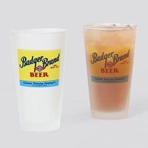 Wisconsin Beer Label 1 Drinking Glass