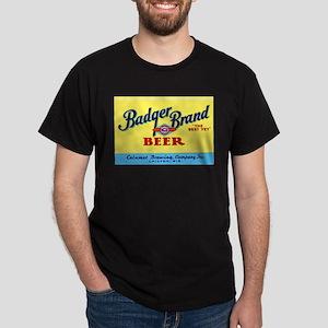 Wisconsin Beer Label 1 Dark T-Shirt