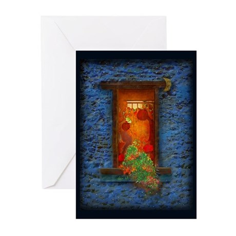 Moon night and warmth - Greeting Cards (Pk of 10)