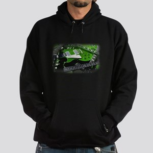Green Guitar Collection Hoodie (dark)