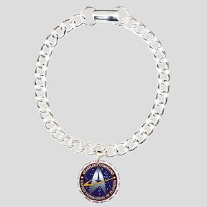 Starfleet Command Charm Bracelet, One Charm