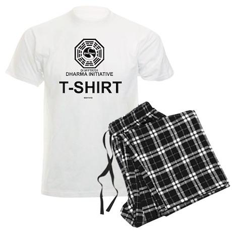 Dharma Initiative Men's Light Pajamas