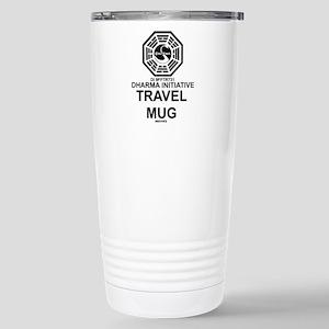 Dharma Initative Stainless Steel Travel Mug