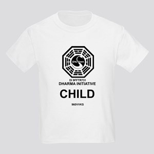 Dharma Initiative Kids Light T-Shirt