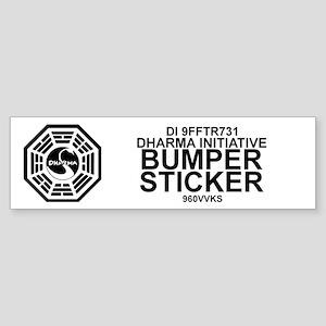 Dharma Initiative Sticker (Bumper)