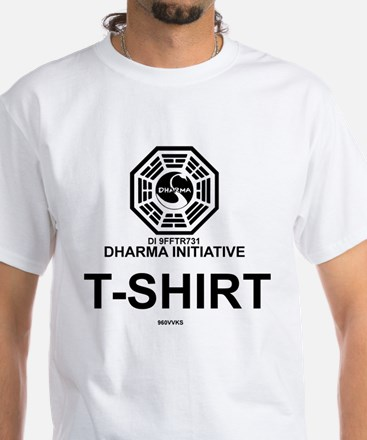 Dharma Initiative White T-Shirt