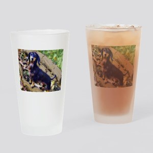 Darling Doxie Drinking Glass