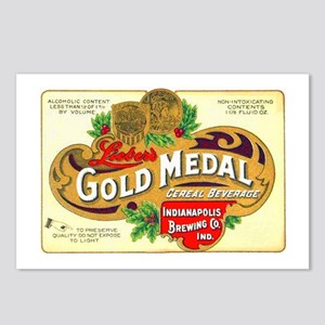 Indiana Beer Label 1 Postcards (Package of 8)