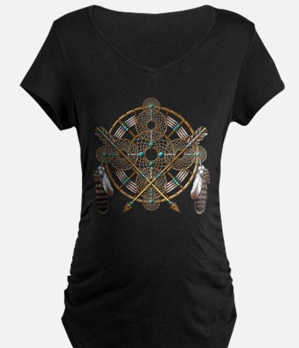 Turquoise Silver Dreamcatcher T-Shirt
