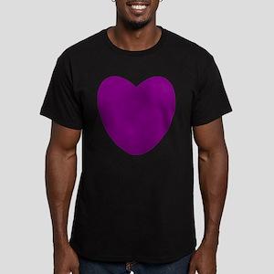 Purple Heart Men's Fitted T-Shirt (dark)
