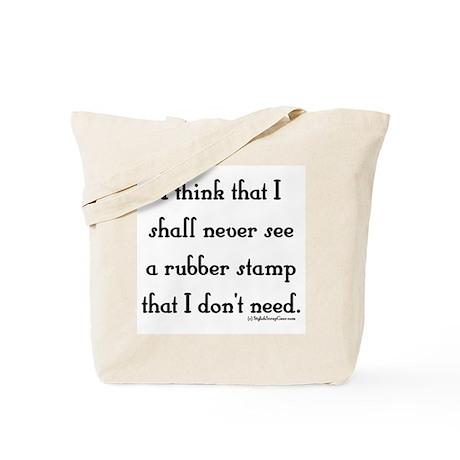 I Shall Never See Tote Bag