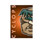 Mr. Cyclops Twobrow Rectangle Magnet (100 pack)