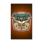 Mr. Cyclops Twobrow Sticker (Rectangle 10 pk)