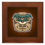 Mr. Cyclops Twobrow Framed Tile