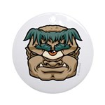 Mr. Cyclops Twobrow Ornament (Round)