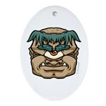Mr. Cyclops Twobrow Ornament (Oval)