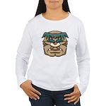 Mr. Cyclops Twobrow Women's Long Sleeve T-Shirt