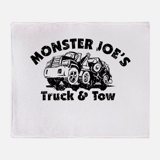 Monster Joe's Truck and Tow Throw Blanket