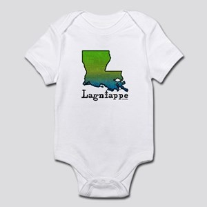 Louisiana Lagniappe Infant Creeper
