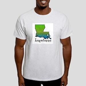 Louisiana Lagniappe Ash Grey T-Shirt