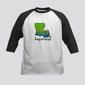 Louisiana Lagniappe Kids Baseball Jersey