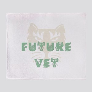 Future Vet Throw Blanket